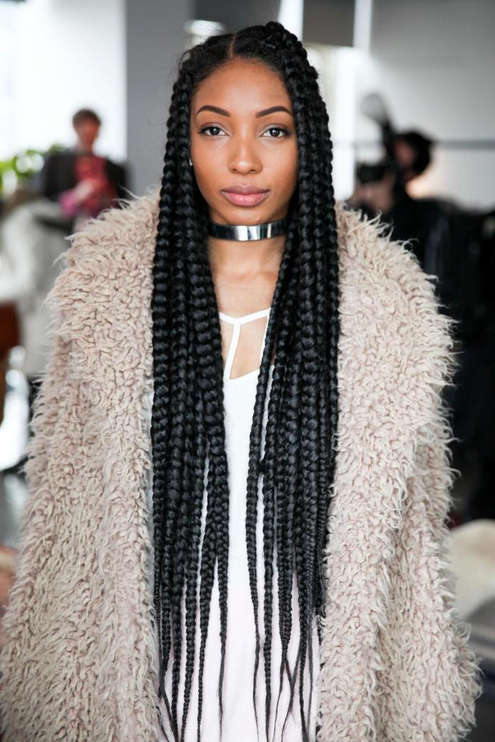 Tapered-Braid Poetic Justice Braids to Flaunt Your Fabulous Look