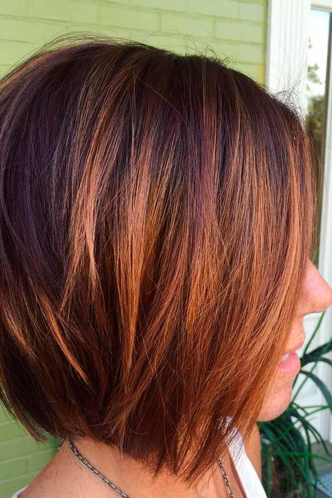 Thin-short-and-sharp-hair-with-bob-hairstyle Most Attractive Fall Hairstyles to Try This Year