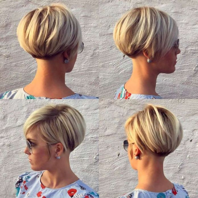 Trendy-short-hairstyle Most Attractive Fall Hairstyles to Try This Year