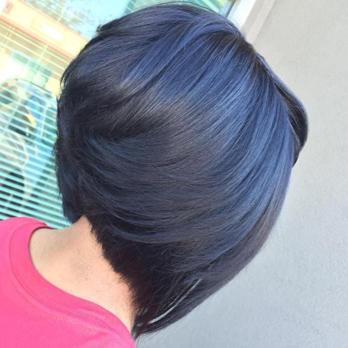Angular-Short-Cut Stunning Ways to Rock a Sew In Bob Hairstyles