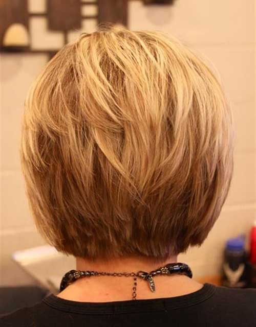 Back-View-of-Blonde-Bob Bob Hairstyles for Women Over 50 – Be Hot And Happening