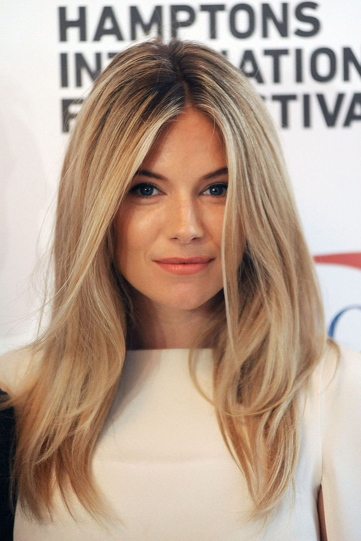 Blonde-Long-Straight-Hair Most Glamorous Long Straight Hairstyles for Women