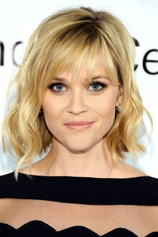 Blonde-Wavy-Bob-with-Side-Bangs Exotic Messy Bob Hairstyles That Women Love