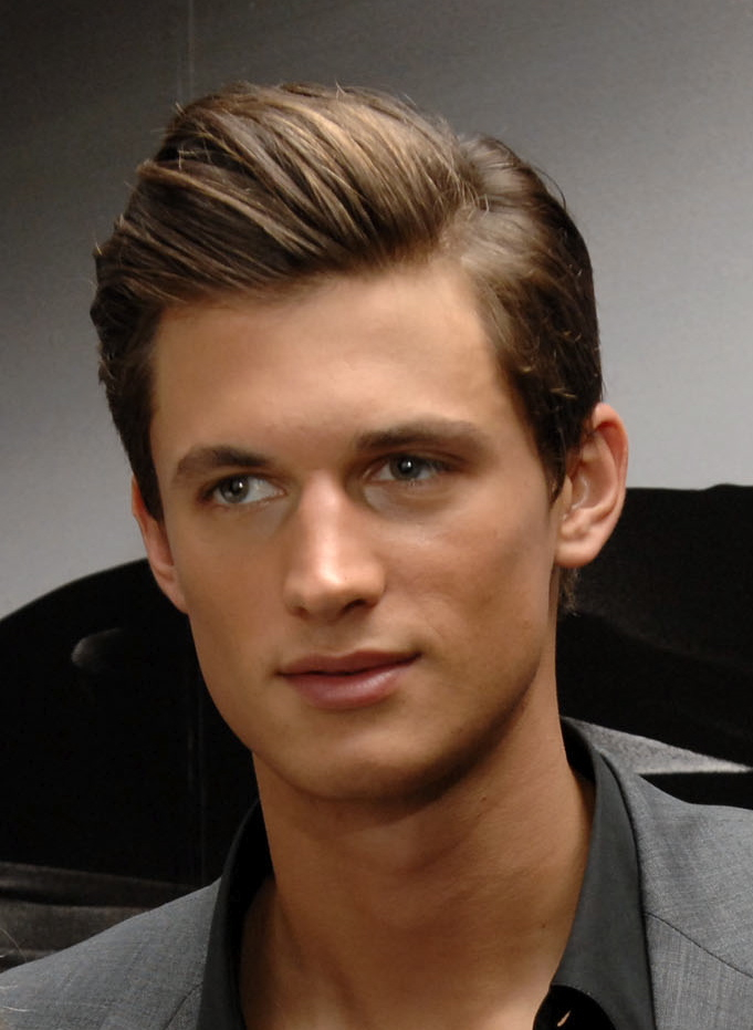 Brown-Medium-Length-Hair Cool and Charming Natural Hairstyles for Men