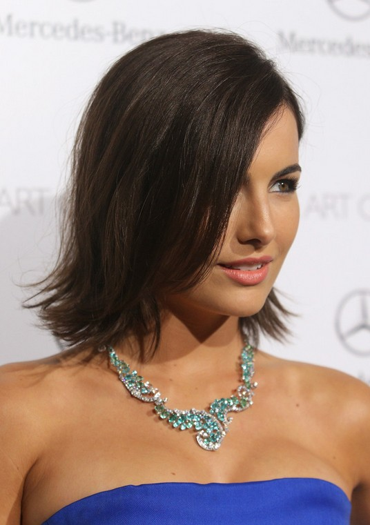 Camilla-Belle-Flip-Hairstyle Unbelievably Stylish Flip Hairstyles for Women
