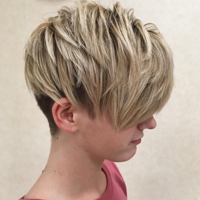 Choppy-Hairstyle Unbelievably Stylish Flip Hairstyles for Women