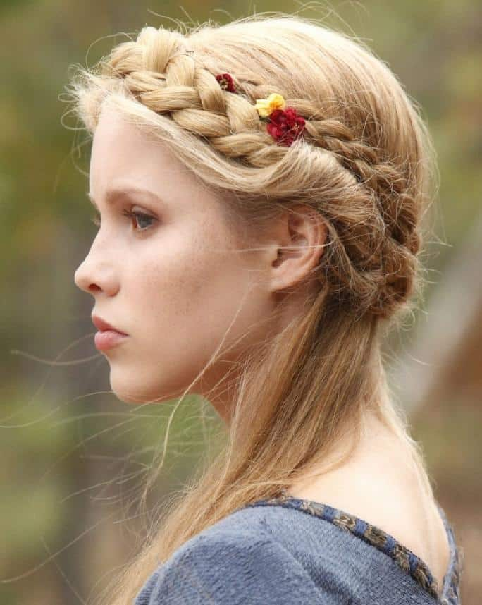 Crown-Braid Hot and Happening Girls Hairstyles for Party