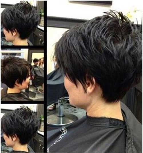 Cute-Pixie-Hairstyle-for-Short-Thick-Layered-Hair Cute Short Hairstyles For Thick Hair