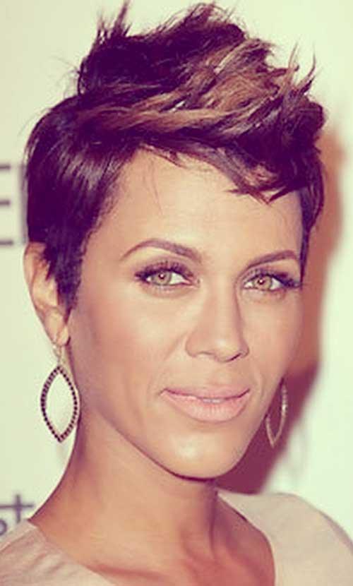 Faux-hawk-hair-for-black-women Short Hair for Black Women