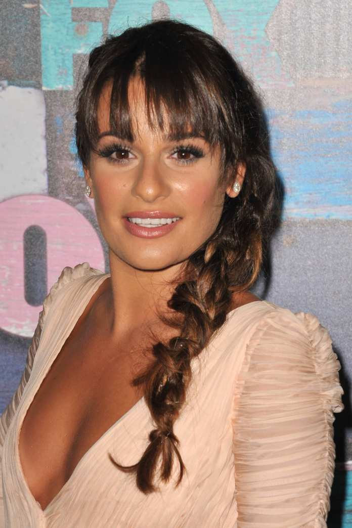 Fishtail-Braids-with-Rubber-Bands Hot and Happening Girls Hairstyles for Party