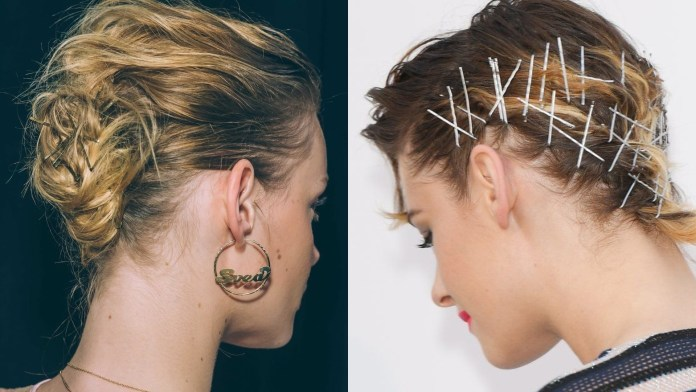 Hairstyles-with-Hair-Pins Most Attractive Hairstyles with Hair Pins