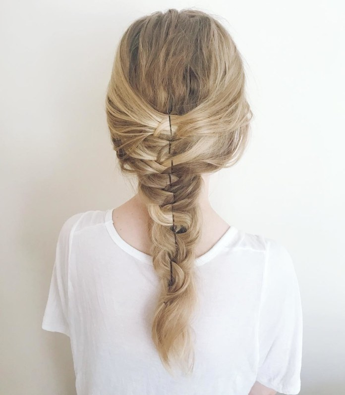 Long-Braided-Hair Most Attractive Hairstyles with Hair Pins