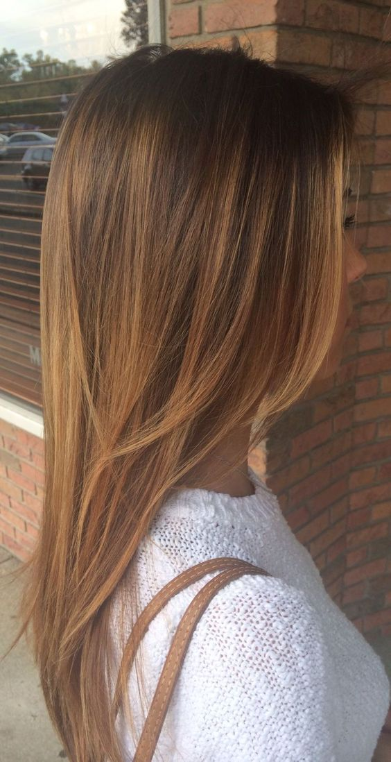 Long-Straight-Hairstyles-With-Layers Most Glamorous Long Straight Hairstyles for Women