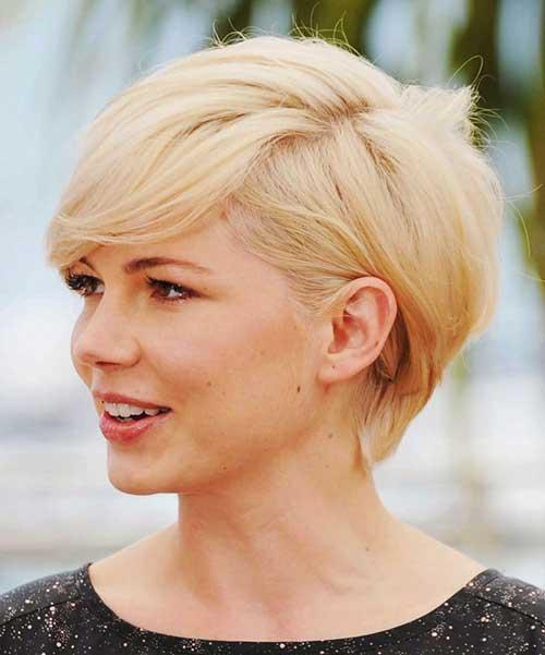 Longer-Pixie-Blonde-Haircut-Michelle-Williams Super Michelle Williams Pixie Haircuts