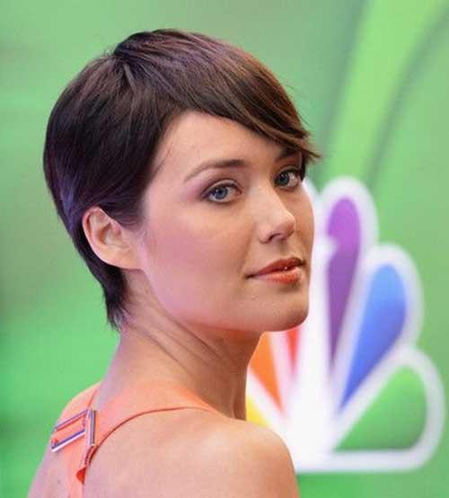 Megan-Boonie-Pixie-Hairstyle Cute Easy Short Haircuts