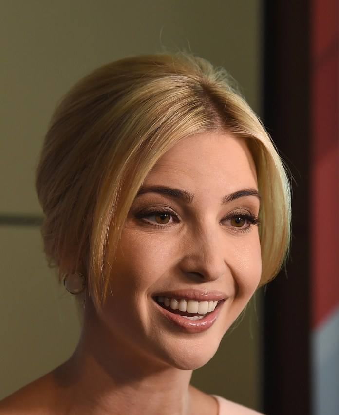 Retro-Low-Bun Very Attractive Ivanka Trump Hairstyles