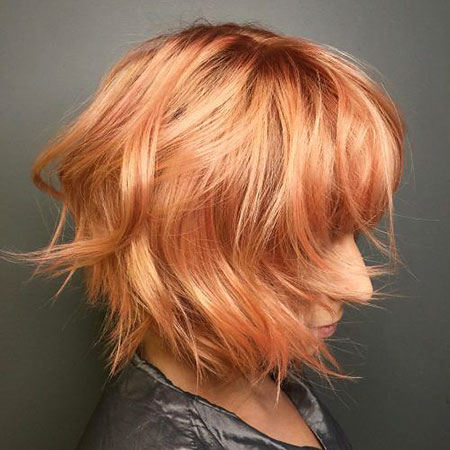SOFT-WAVES Short Messy Bob Hairstyles 2020
