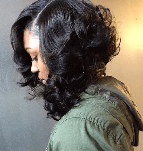 Sew-in-bob-cut-with-curls Sew In Bob Hairstyles To Give You New Looks