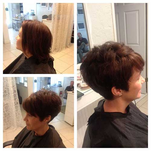Short-Cute-Hairstyle-for-Thick-Pixie-Hair-Style Cute Short Hairstyles For Thick Hair