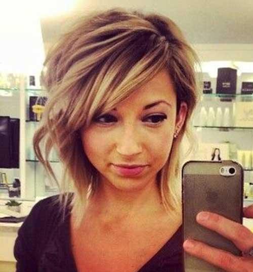 Simple-Bob-Hairstyle Cute Easy Short Haircuts