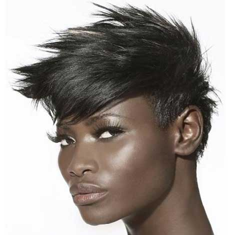 Spiky-hair-for-black-women Short Hair for Black Women