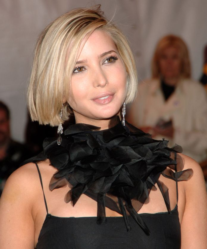 Straight-Shag-Hairstyle Very Attractive Ivanka Trump Hairstyles