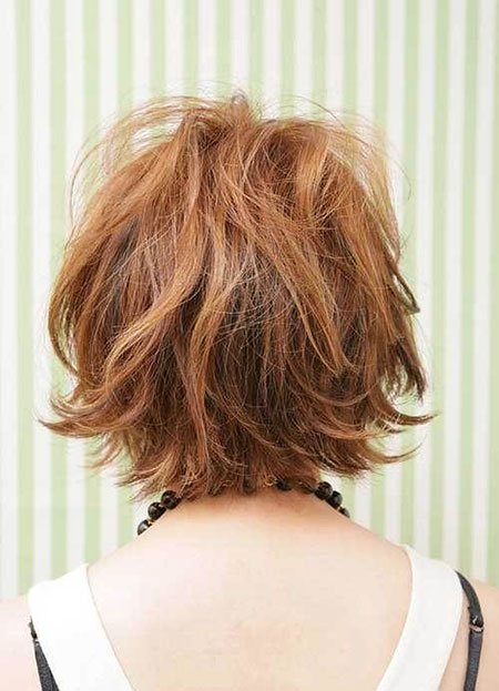 TOO-DIRTY-CARAMEL-BROWN-ON-BLACK-MANE Short Messy Bob Hairstyles 2020