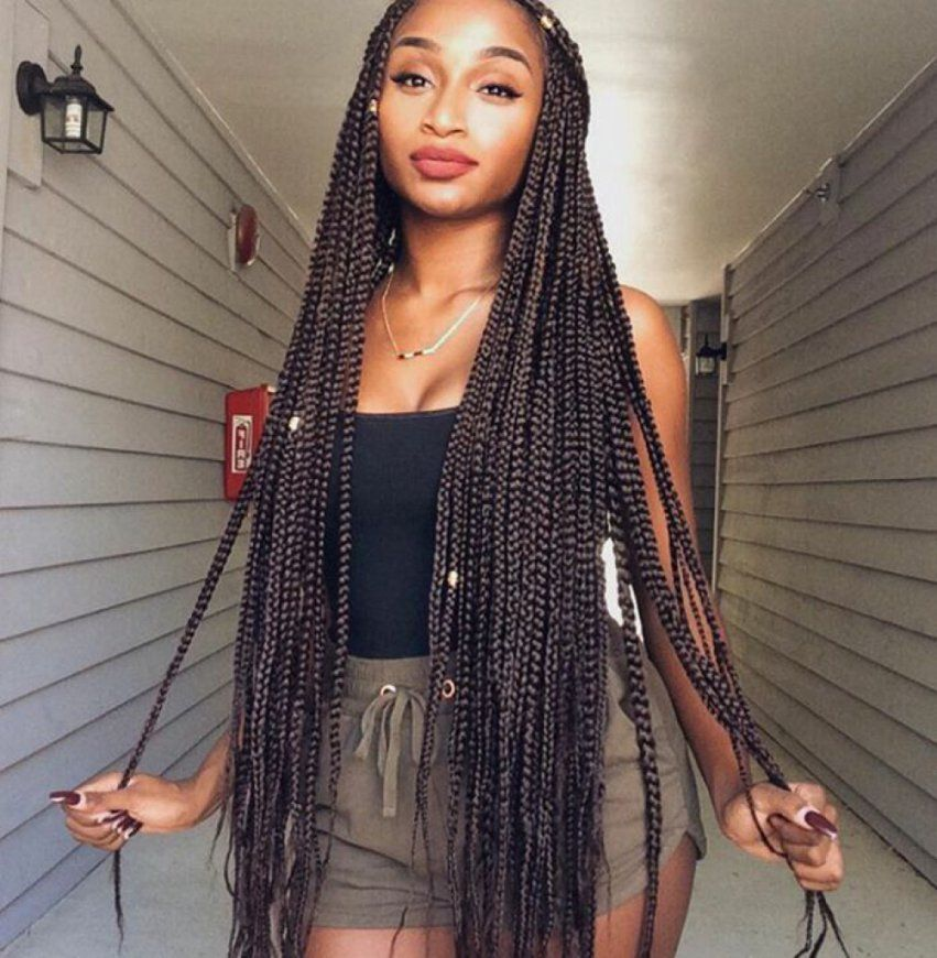 Ultra-Long-Goddess-Hairstyle Most Coolest Twist Hairstyles for Amazing Look