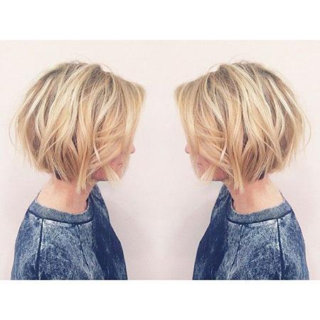VOLUMINOUS-VIBE Short Messy Bob Hairstyles 2020