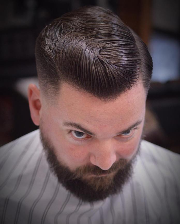 Vintage-Hairstyle-for-Wedding Stylish Wedding Hairstyles for Men