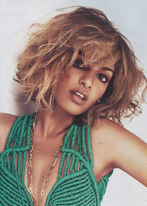 Wavy-hairstyles-for-black-women Short Hair for Black Women