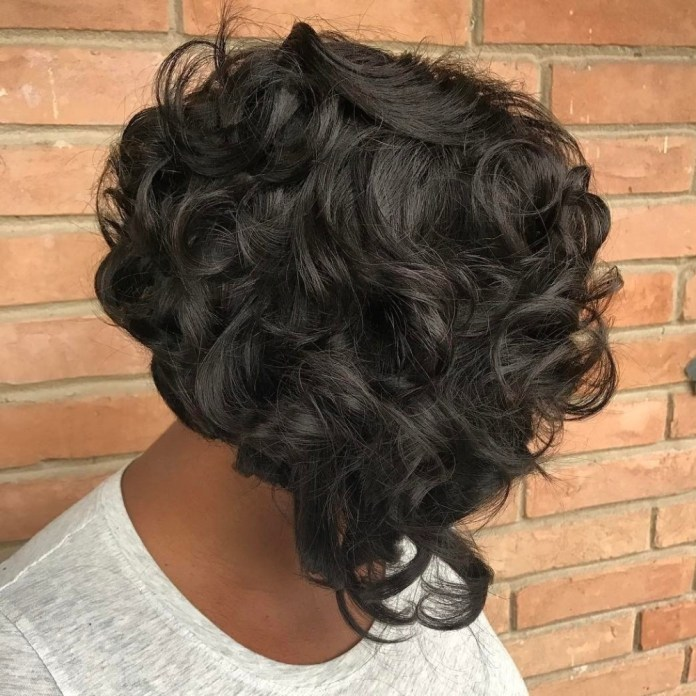 Weave-with-Textured-Curls Stunning Ways to Rock a Sew In Bob Hairstyles