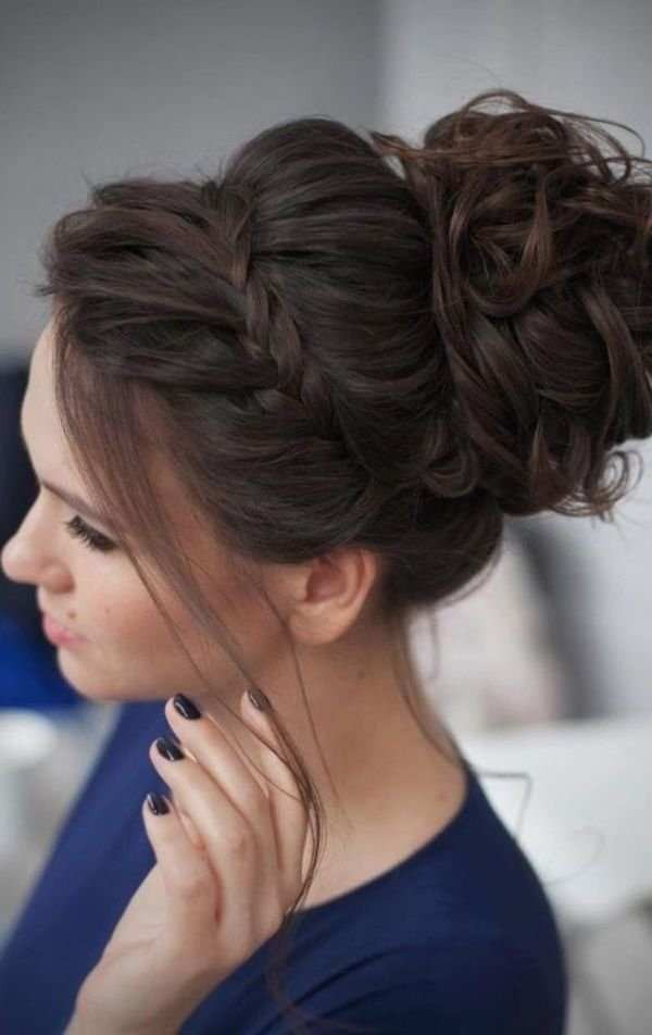 Wedding-Bun Cute Hairstyles for Girls to Look Charismatic