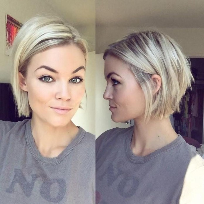 Angled-Bob-Cut Short Hair Trends for Stylish and Gorgeous Look