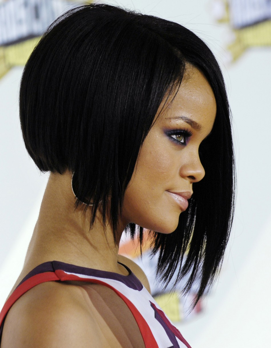 Asymmetrical-Bob-Hairstyle Bob Hairstyles for Black Women for Rocking Look