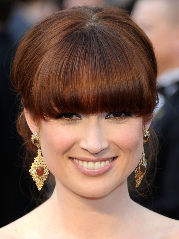 BANGS-FOR-OVAL-FACE-1 How To Choose The Right Bangs