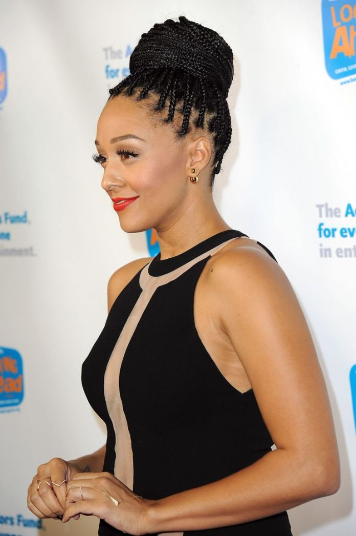 Big-Bun-with-Braids Braids Hairstyles for an Ultimate Princess Look