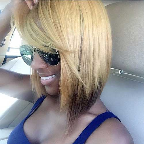Black-Girl-Bob-Side-View Black Girl Bob Hairstyles