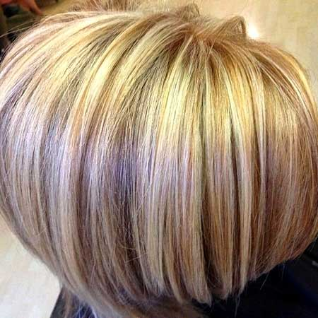 Blonde-Colored-Short-Hair-for-Girls Short Hair Colors Ideas 2020