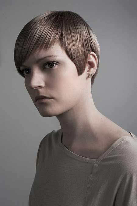 Boyish-Haircut Short Haircuts for Straight Hair