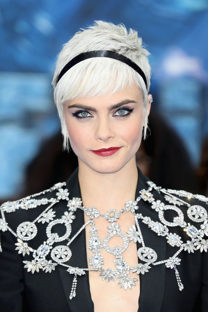 Cara-Delevingne Short Blonde Hairstyles That'll Inspire You to Call Your Colorist