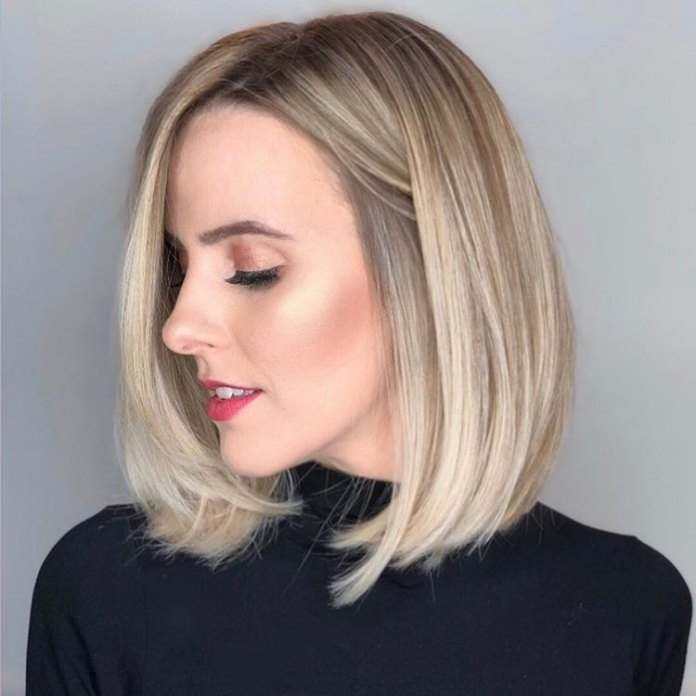 Classic-Blonde-Bob Short Hair Trends for Stylish and Gorgeous Look