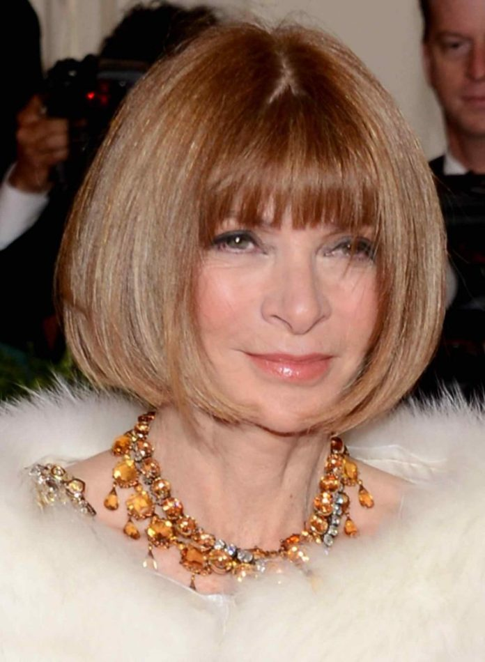 Classic-Bob-with-Bangs Hairstyles For Women Over 50 With Bangs