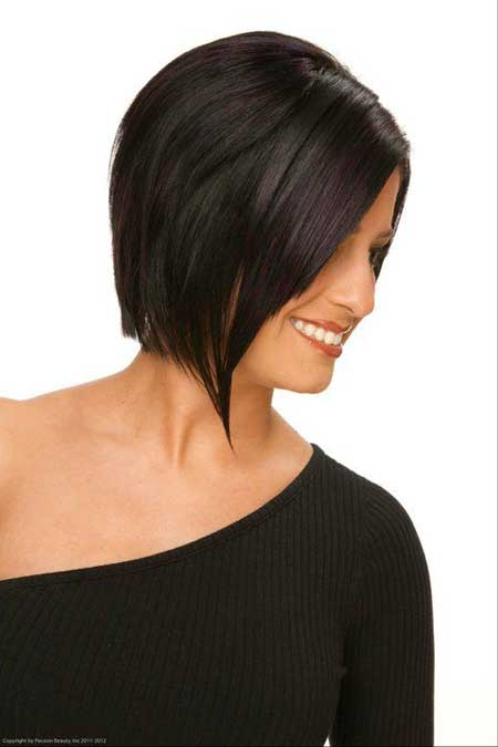 Classic-Bob Short Haircuts for Straight Hair