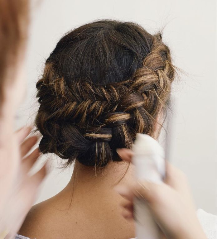 Crown-Braided-Hairstyle Braids Hairstyles for an Ultimate Princess Look
