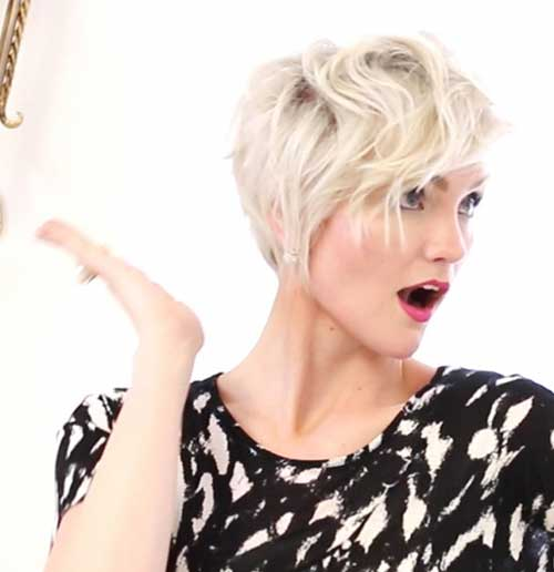 Cute-Style-of-a-Pixie-Hairstyle Pixie Hair Styles for 2020