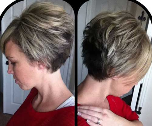 Cute-Very-Short-Graduated-Bob-Cut-for-Girls Cute Short Hair Cuts For Girls