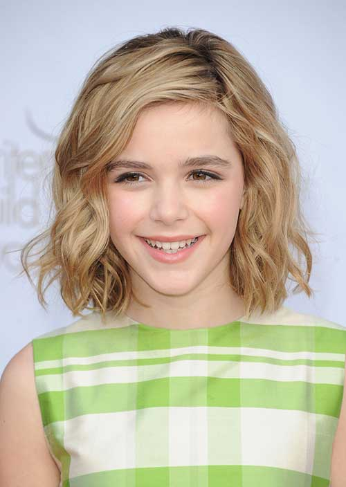 Cutest-Short-Wavy-Blonde-Hair-Cut-for-Girls Cute Short Hair Cuts For Girls