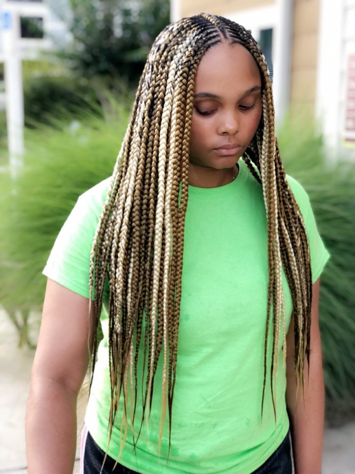 Dramatic-Tribal-Braids Tribal Braids for Super Trendy Appearance