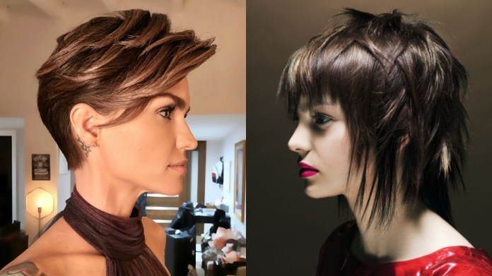 Edgy-Haircuts Edgy Haircuts for Women to Look Super Model